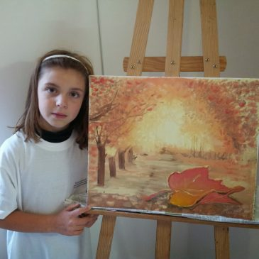 Stage peinture jeunesse Novembre 2013
