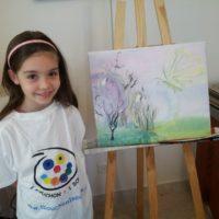 Althéane  7 ans