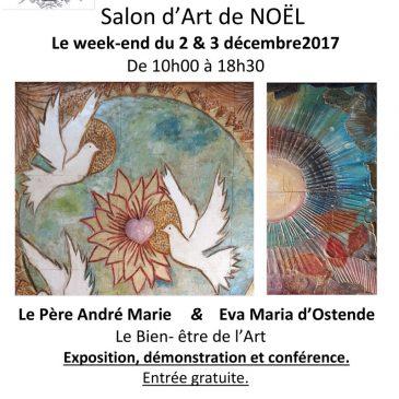 Salon d'Art de NOËL 2 et 3 décembre 2017