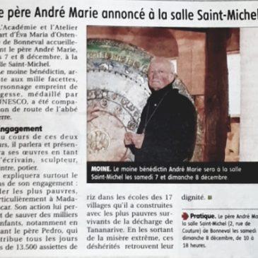 Le père André-Marie annoncé à la salle Saint-Michel à Bonneval