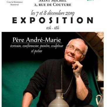Invitation Vernissage – Père André-Marie 7 et 8 décembre 2019